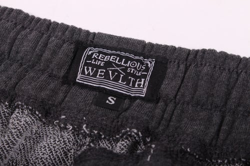 Image of RWLS French Terry Shorts Charcoal