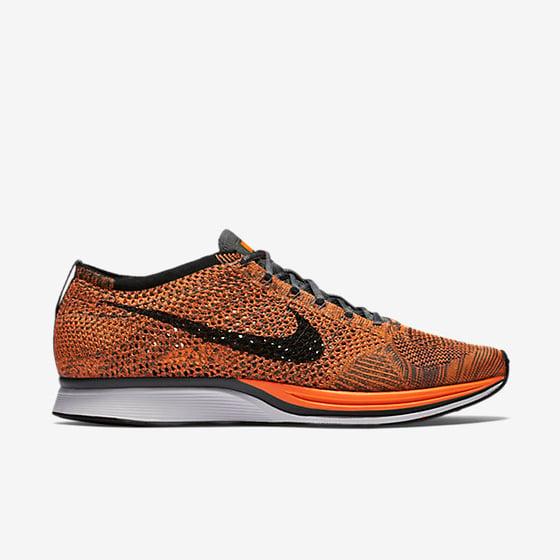Image of Nike Flyknit Racer Total Orange