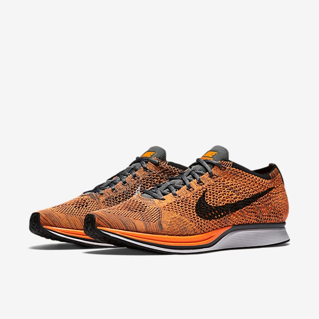 cec359da72645 ... Image of Nike Flyknit Racer Total Orange ...