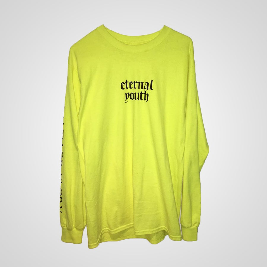 Image of ETERNAL YOUTH Yellow Pullover