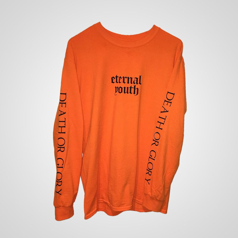 Image of ETERNAL YOUTH Orange Pullover