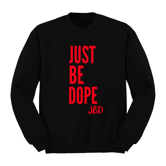 Image of Black JBD 3 Year Anniversary Crewneck
