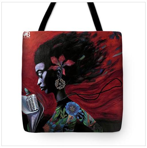 Image of Q Soul 45 tote bag