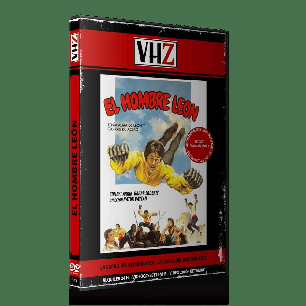 Image of El Hombre León 1 y 2 (Edición 2 DVD)