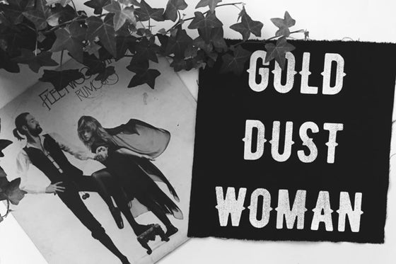 Image of GOLD DUST WOMAN patch