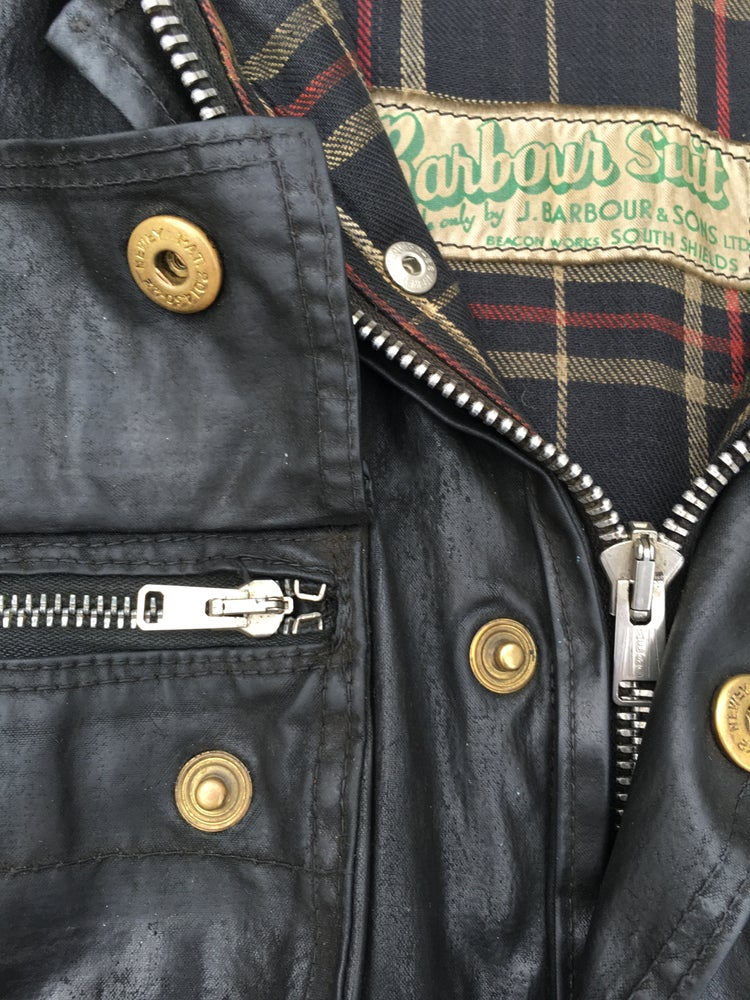 Image of Barbour Suit 1950's International biker jacket