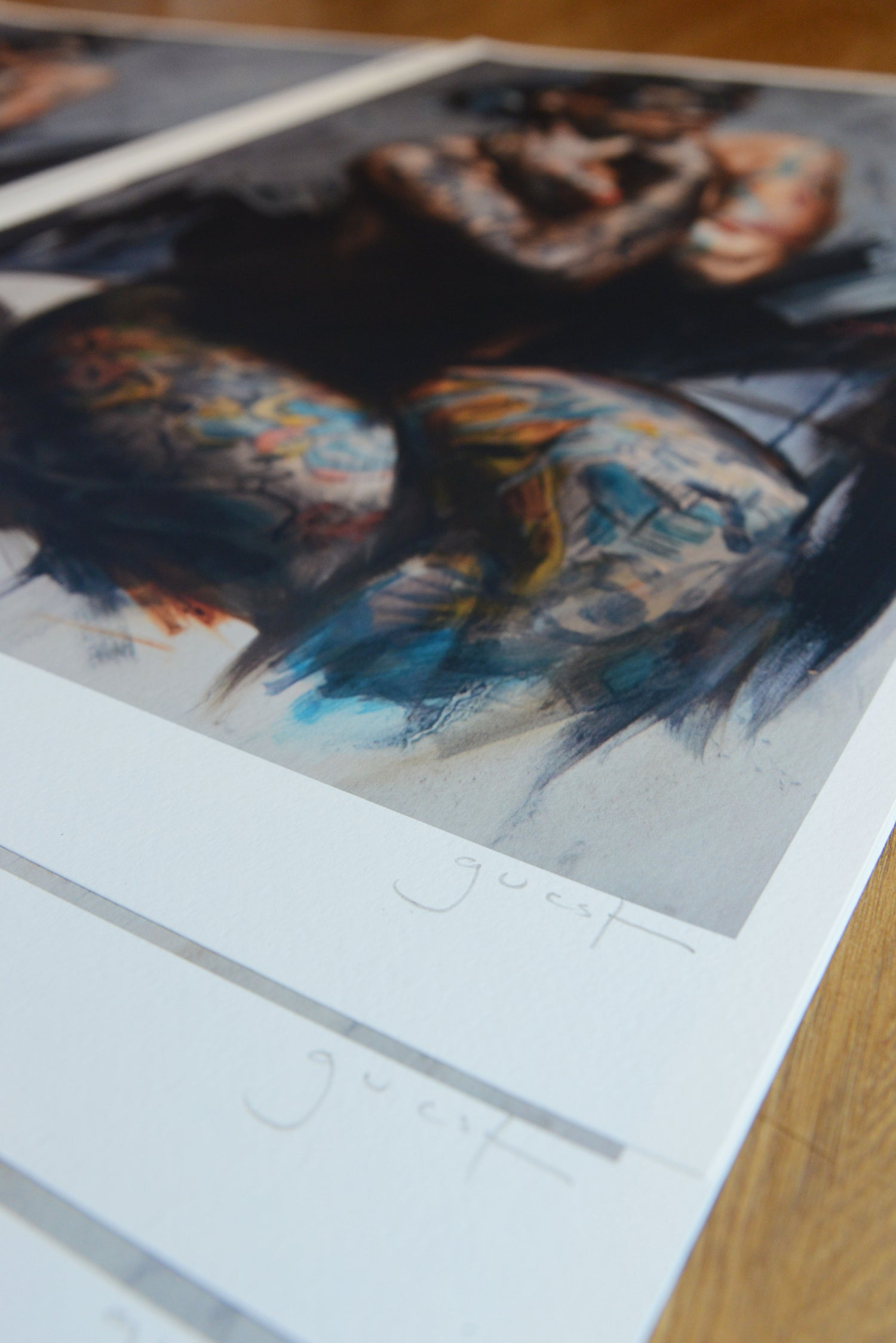 Image of Extremely Limited Edition 'Mask II' Giclee Print