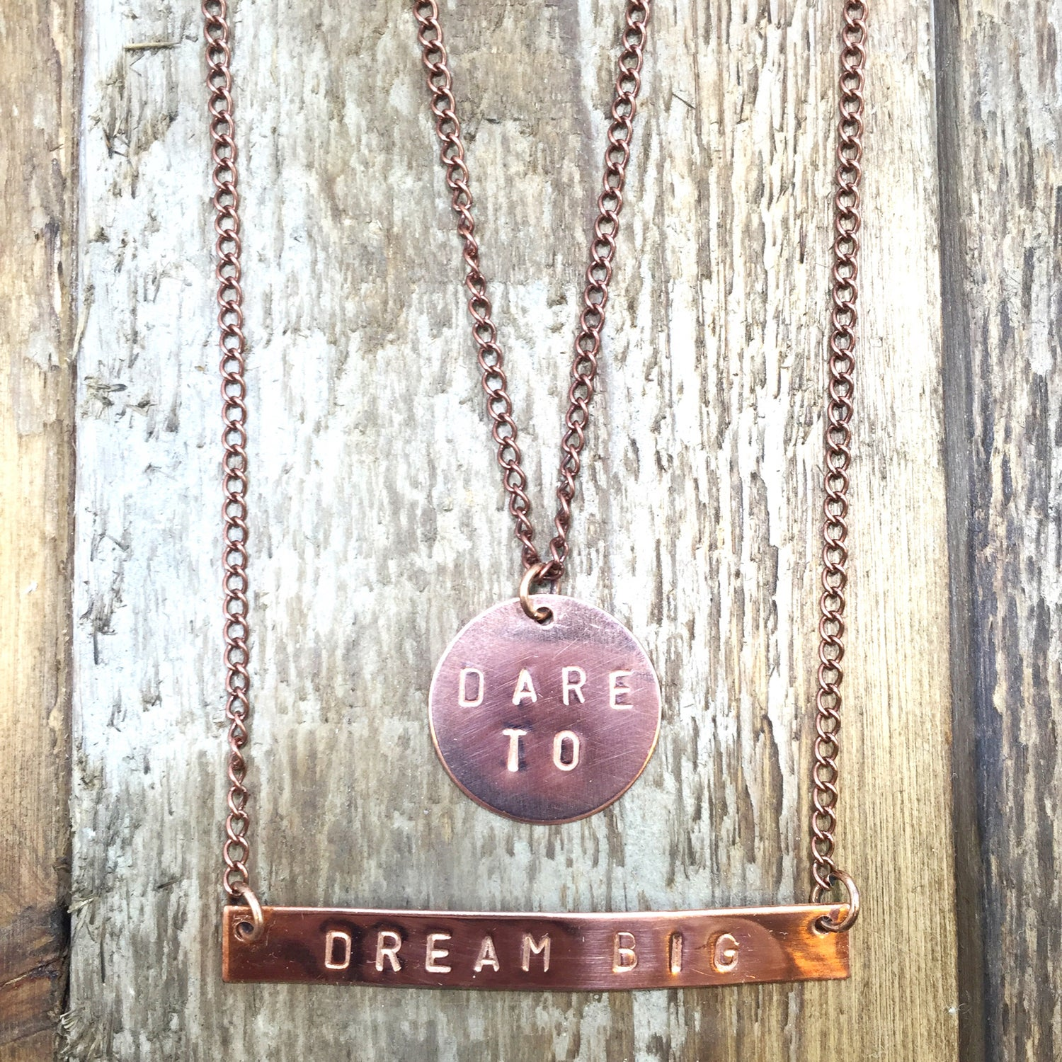 Image of Dare to Dream Big Necklace
