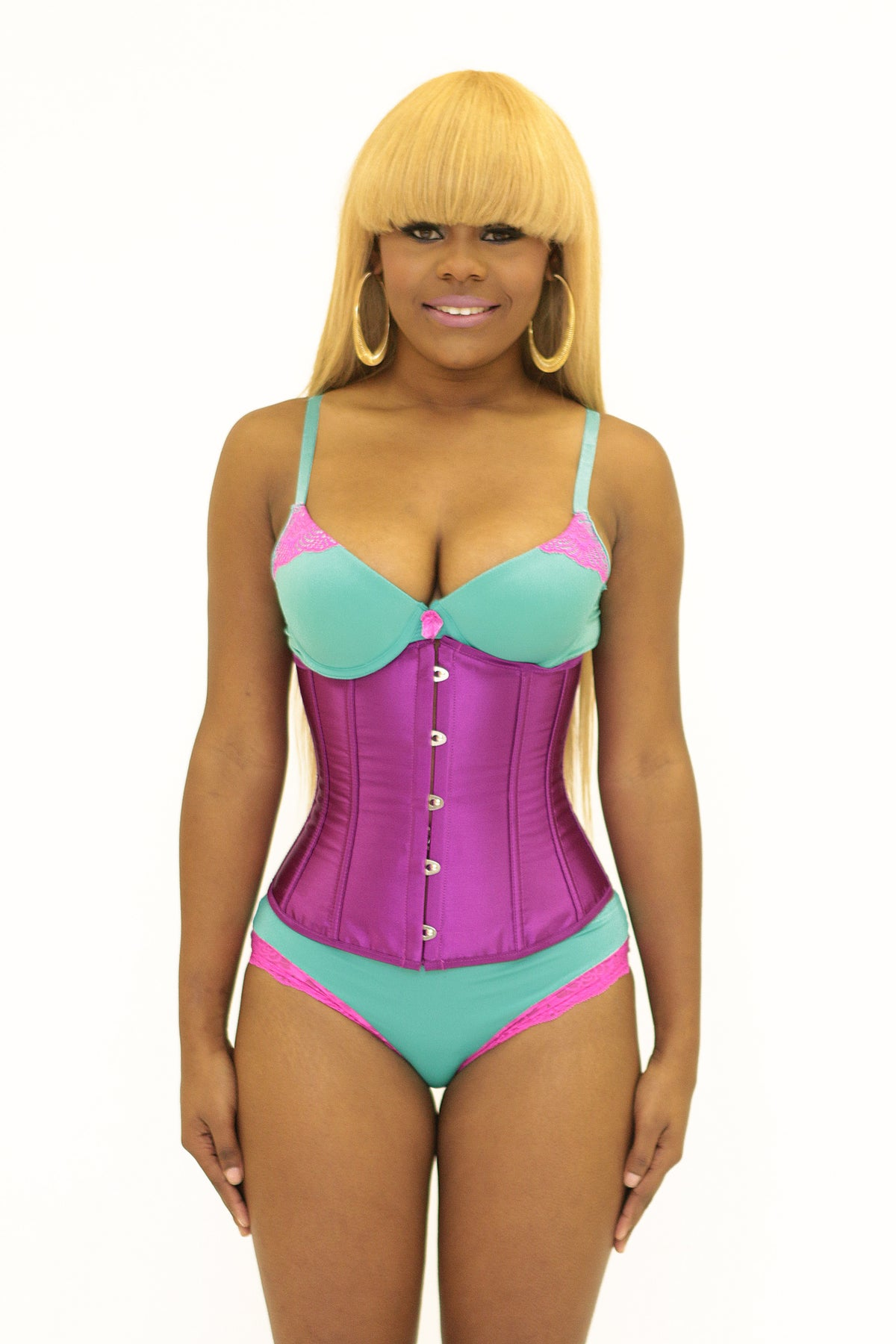 Image of The Mermaid Corset Purple