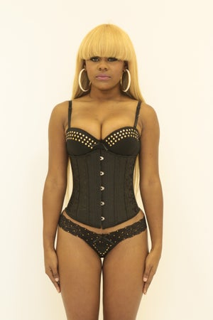 Image of The Rosey Steel Boned Corset