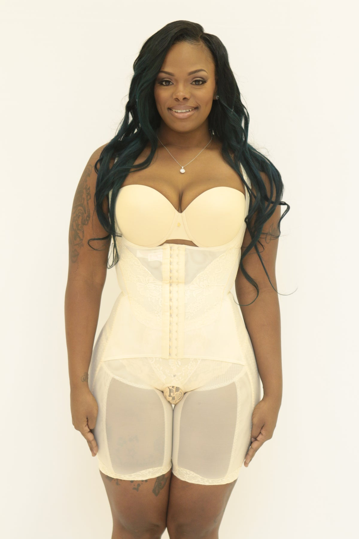 Image of The McKenzie Bodysuit Beige