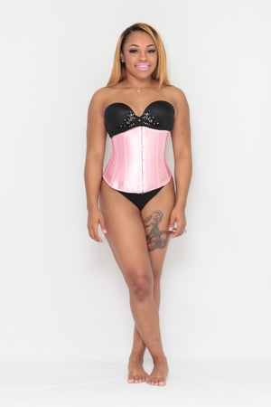 Image of The Mermaid Corset Pink