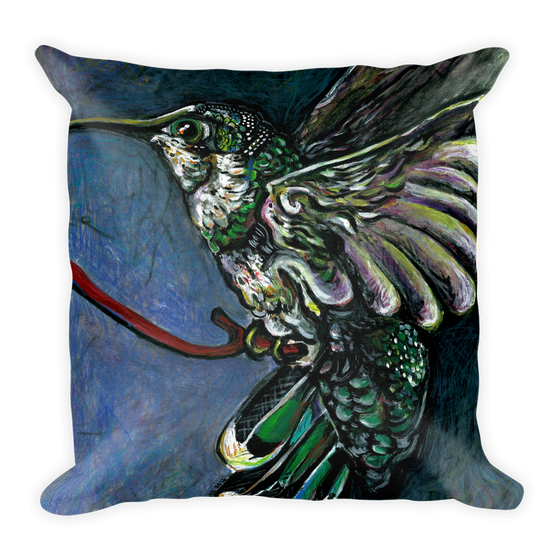 Image of SoCal Hummer Pillow