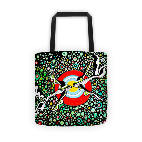 Image of Kissing Fish Tote