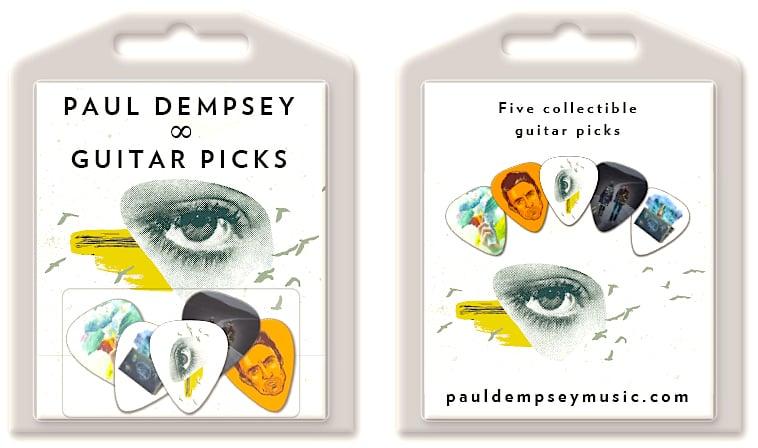 Image of Paul Dempsey Guitar Picks