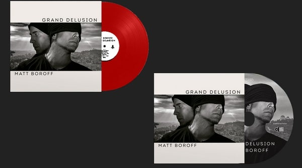 "Image of Matt Boroff (Red vinyl and/or CD Digipak or 7 "")"