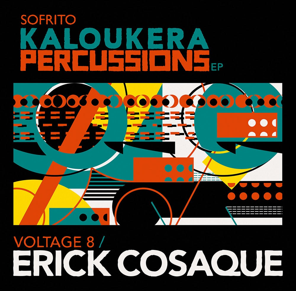 Image of Kaloukera Percussions EP // Erick Cosaque // Voltage 8