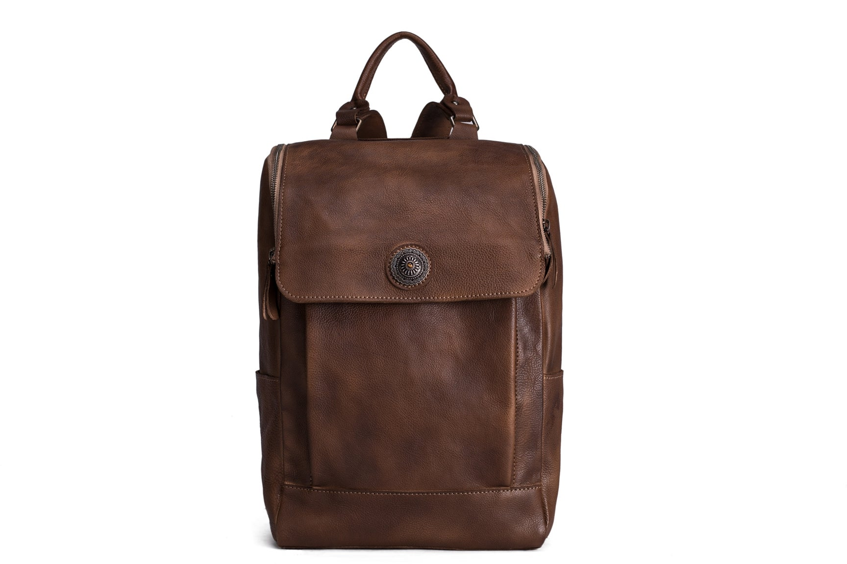 MoshiLeatherBag - Handmade Leather Bag Manufacturer — Handmade Vintage  Style Vegetable Tanned Leather Backpack e0c4013e6860e