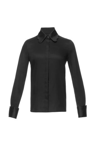 Edinburgh Shirt (Black) $310.00 - Melissa Bui