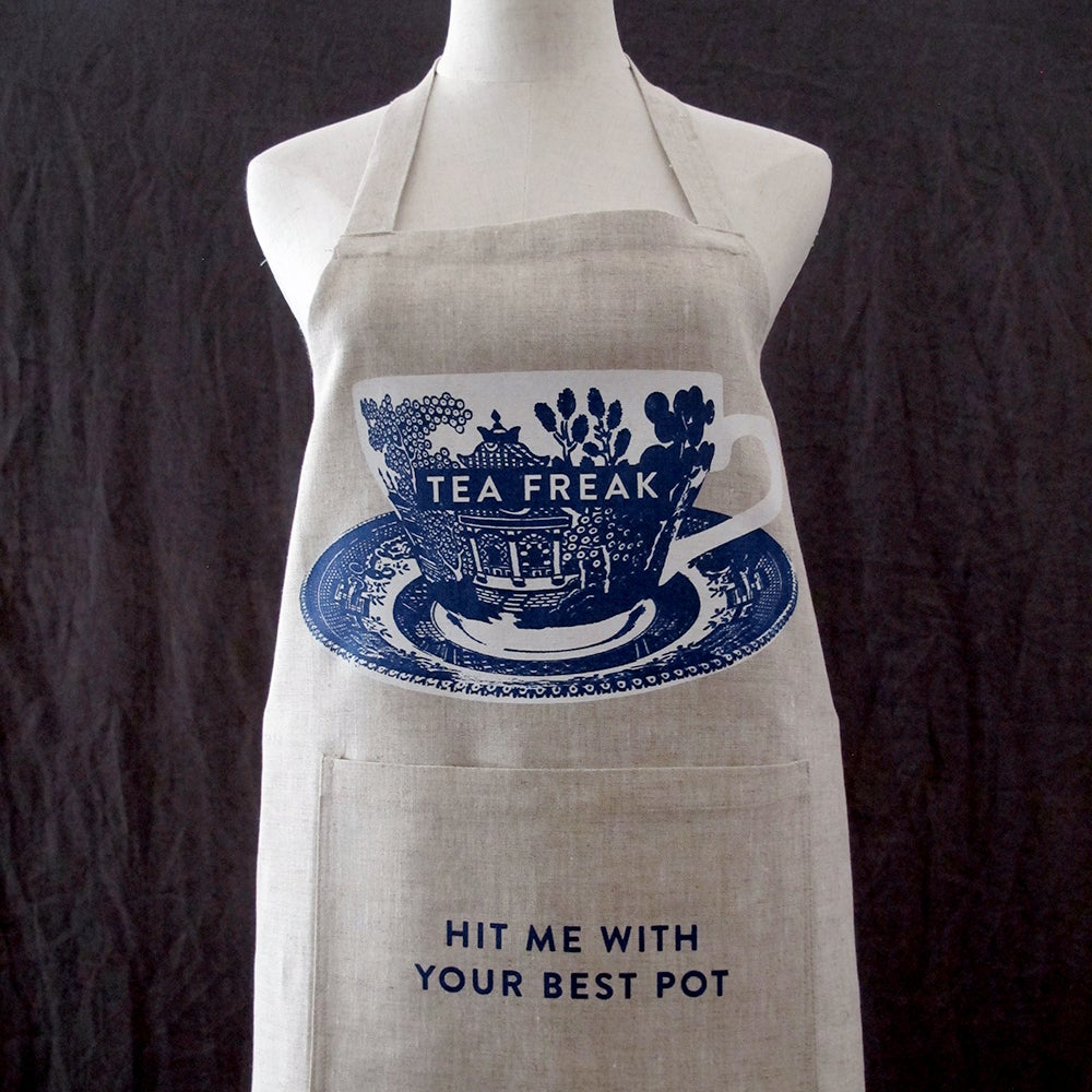 Image of APRON: tea freak
