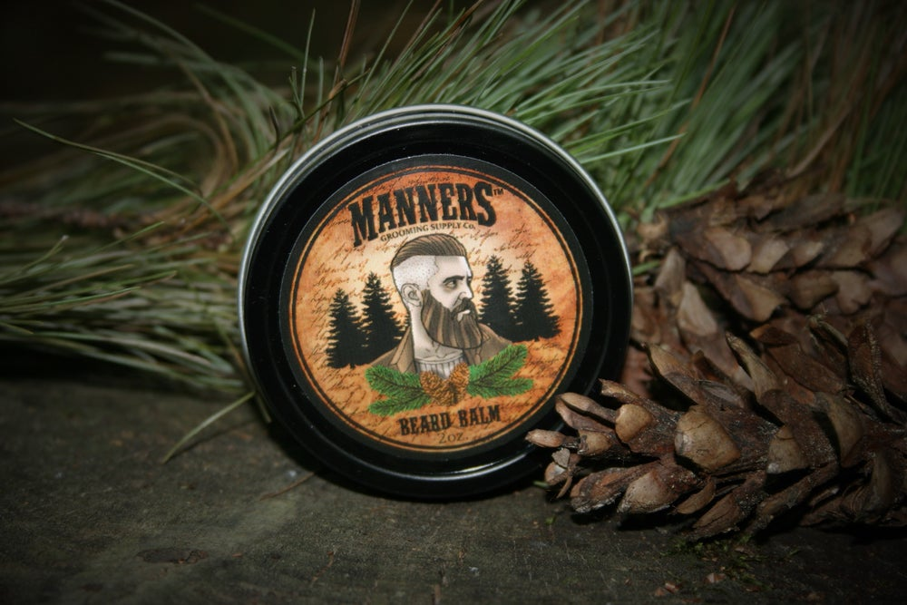 Image of BEARD BALM - 2oz. Tin