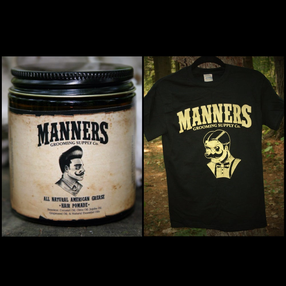Image of POMADE + T-SHIRT + STICKER