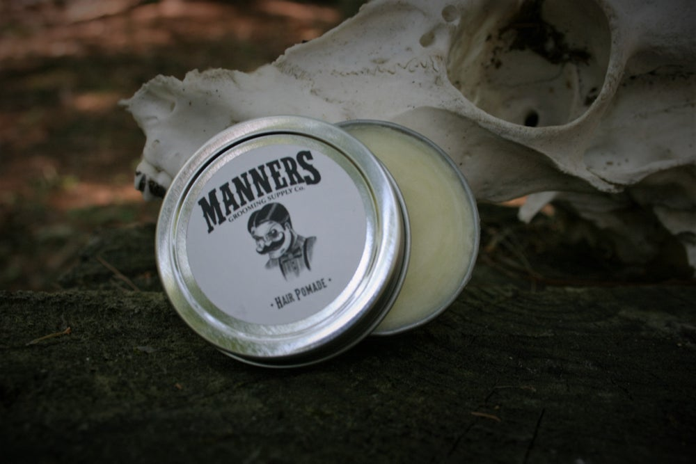 Image of HAIR POMADE - 1oz. Sample Tin
