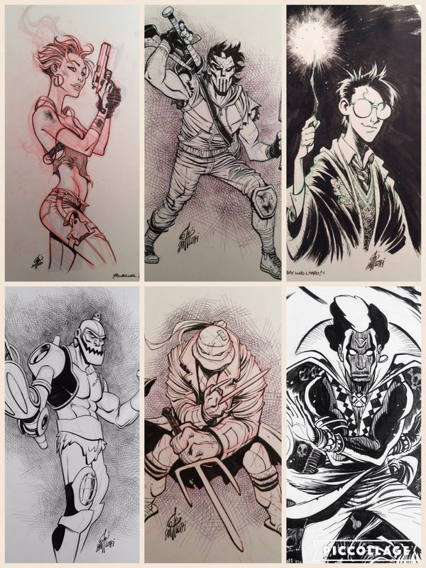 Image of COMMISSION PRE-ORDERS: TELL SAM WHAT TO DRAW!