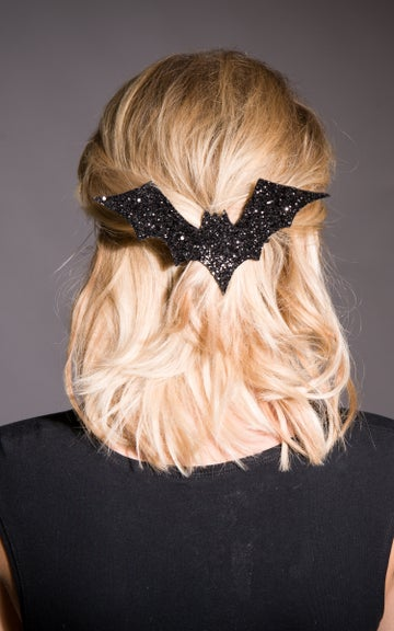 Image of XL Glitter Bat Hair Clip Available in 30 Colours