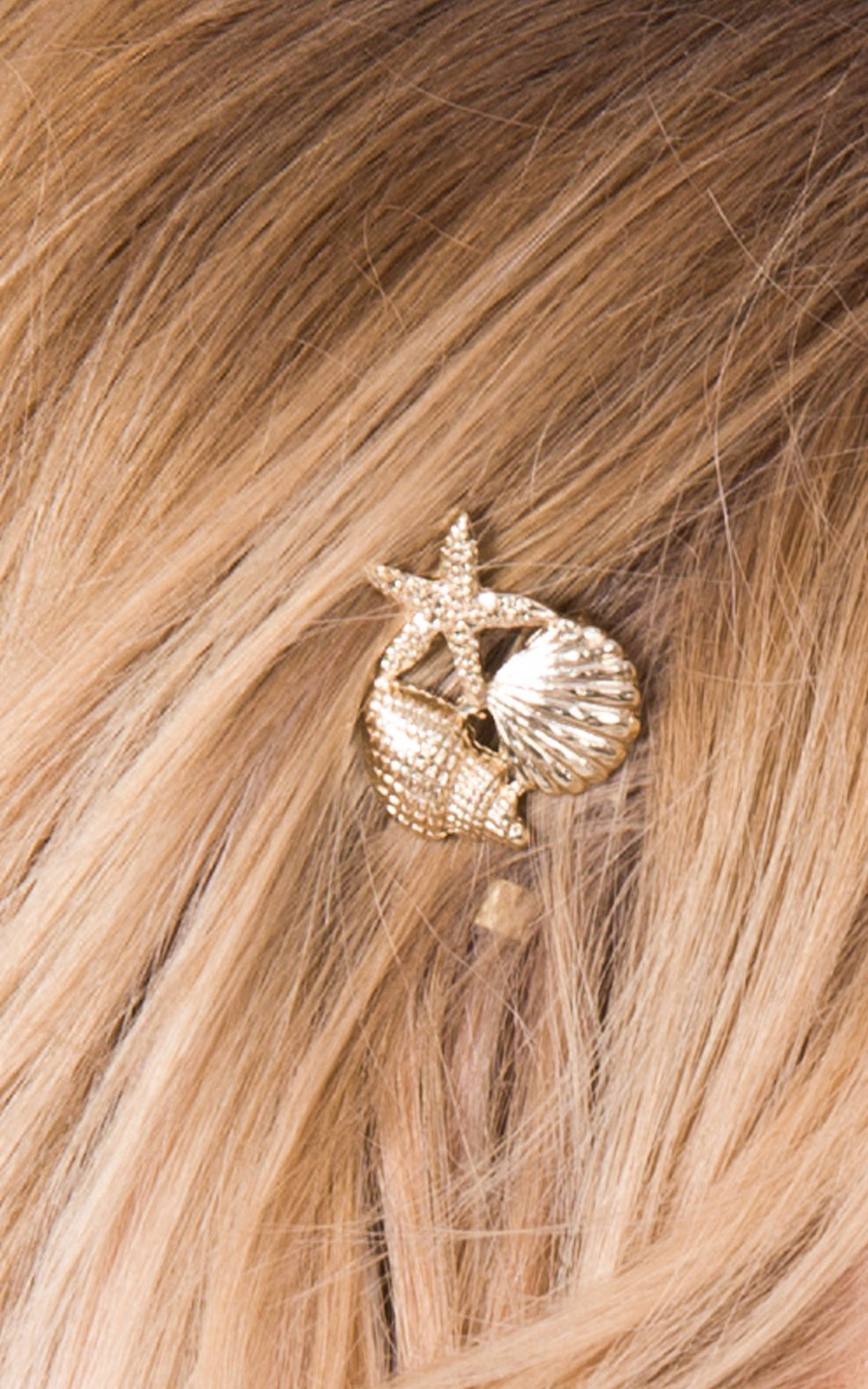 Image of Mermaid Bobby Pin Available in Silver or Gold