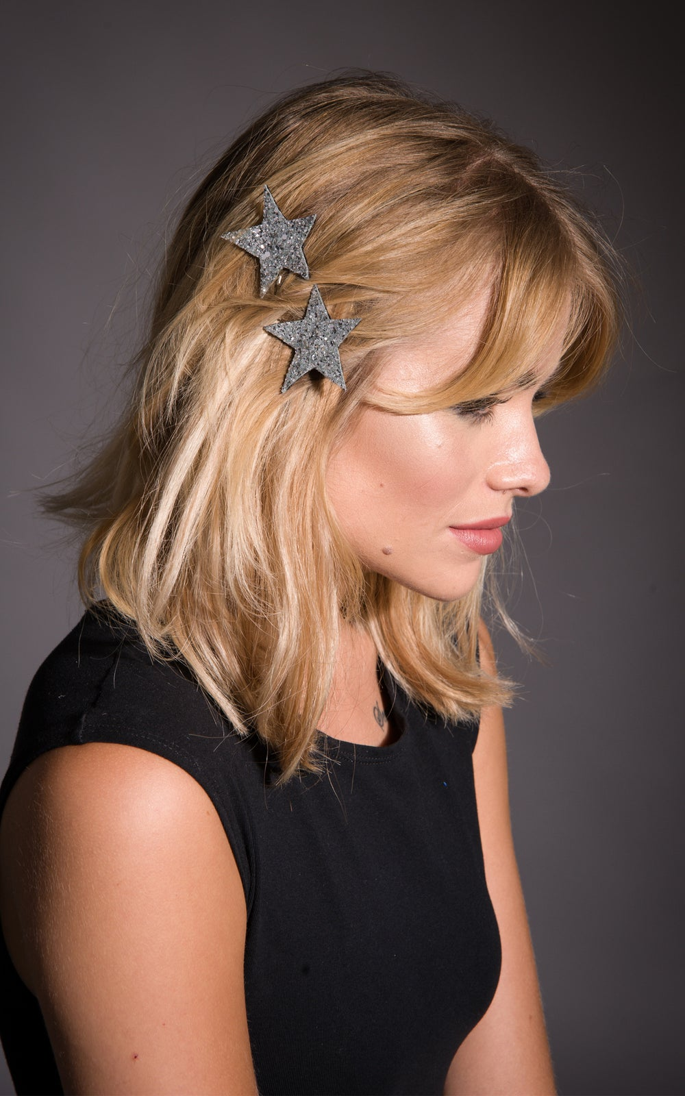 Image of Star Bobby Pins Available in 30 Colours