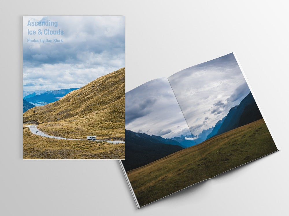 Image of Ascending Ice & Clouds - Photo Zine