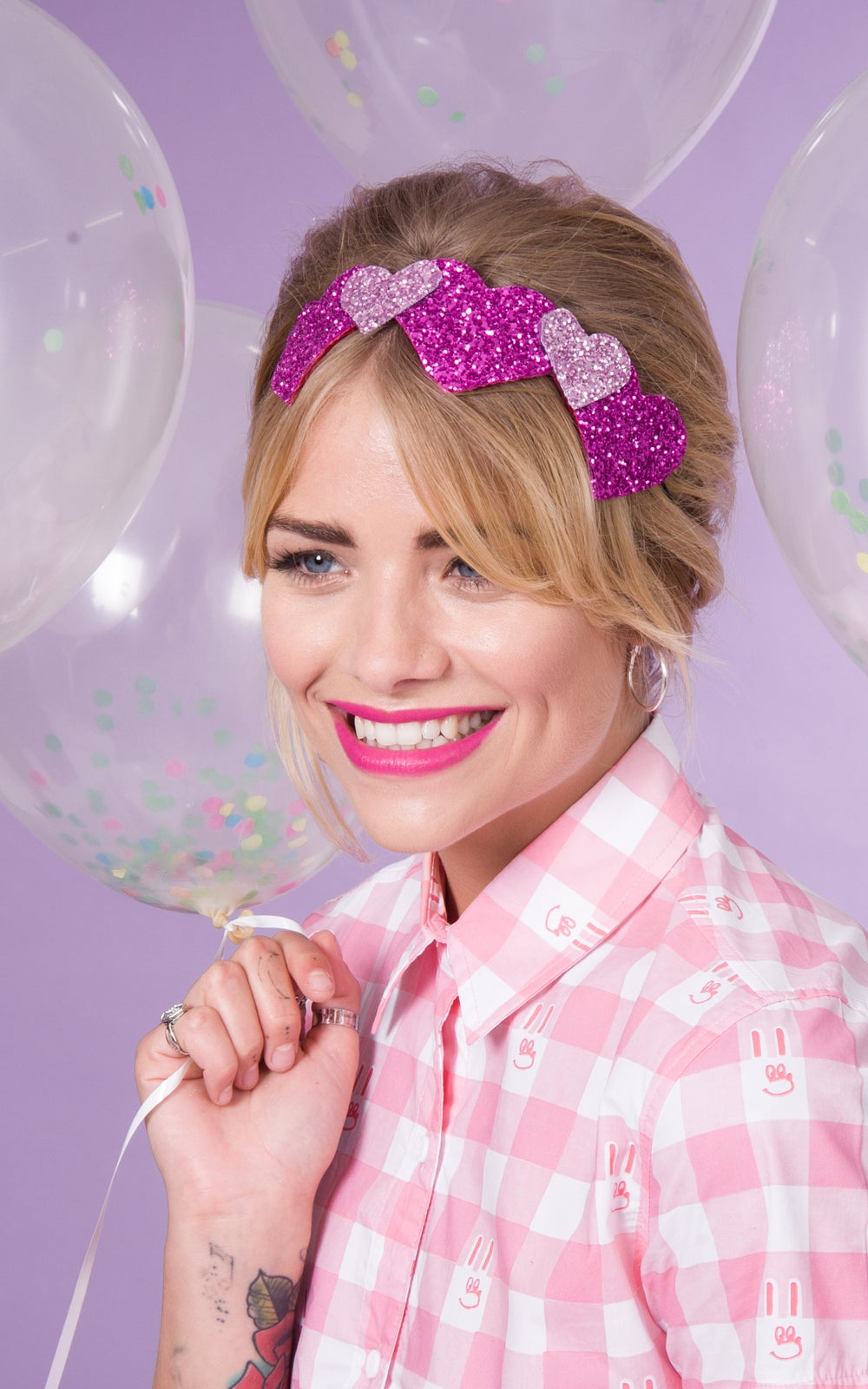 Image of Judy Heart Bandeau Headband