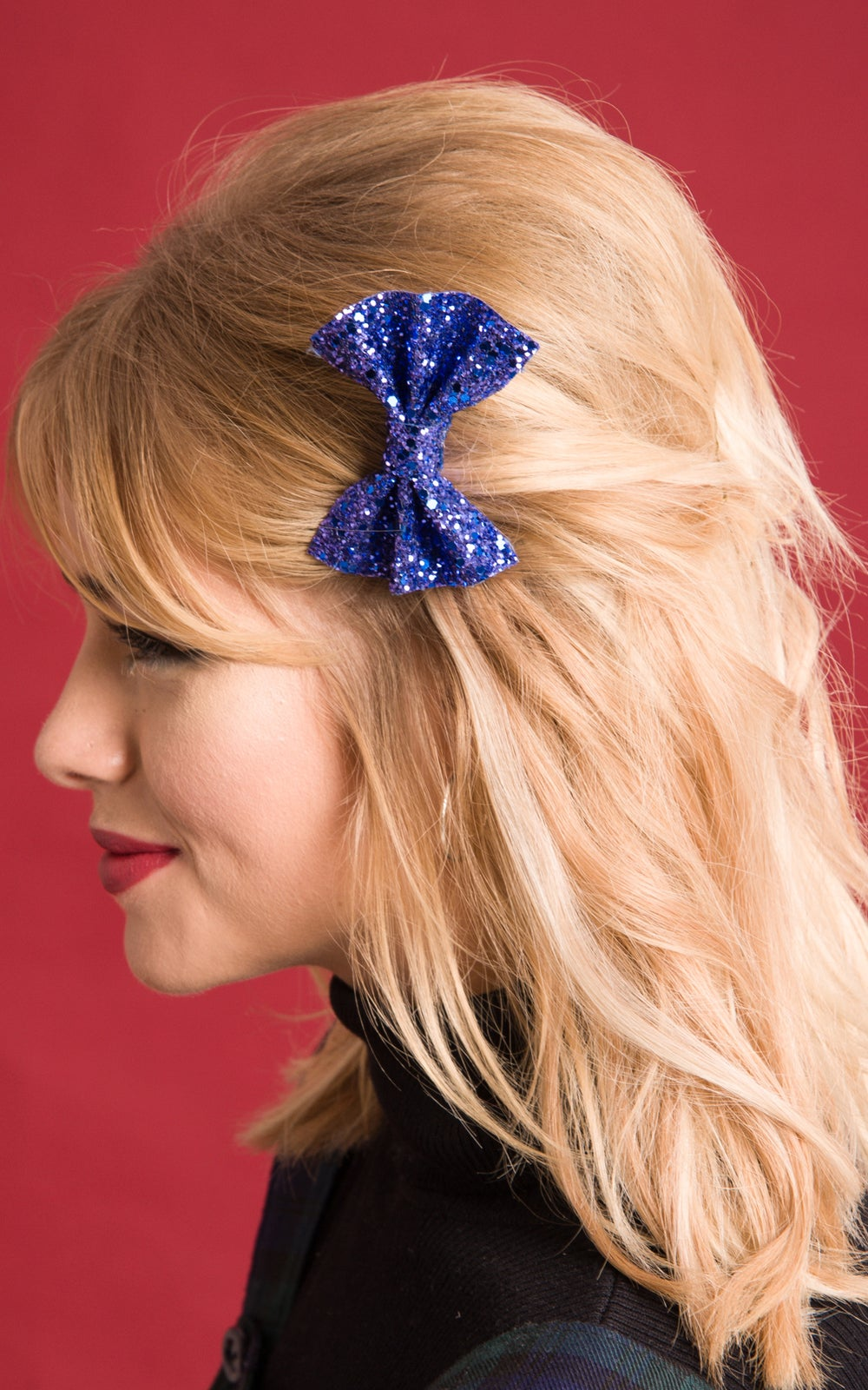 Image of Baby Glitter Bow available in 30 colours