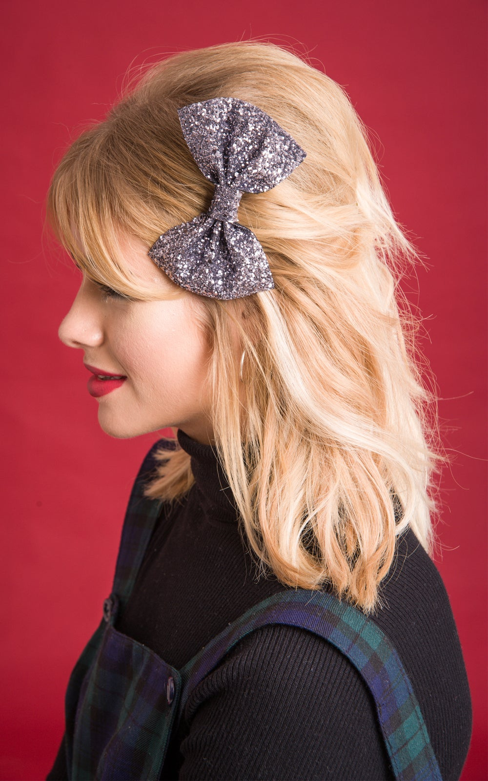 Image of Betty Glitter Bows Available in 30 Colours