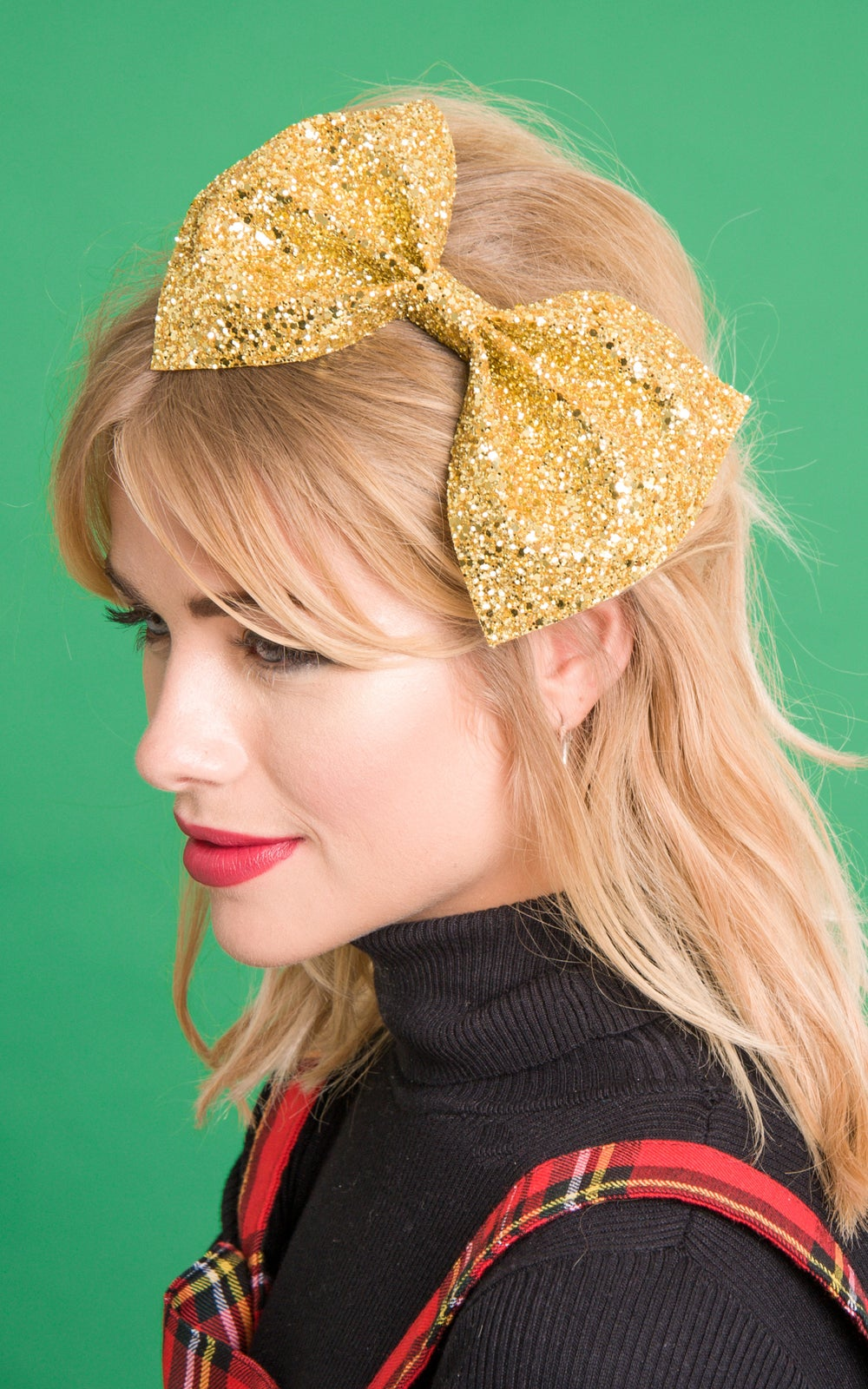 Image of Bianca XL Bow Available in 30 colours Dark Colours