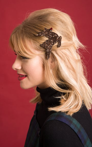 Image of Rudolph Hair Clip Available in 30 Colours
