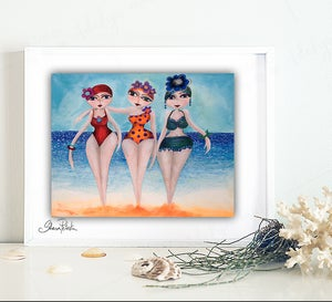 Image of Bathing Beauties PRINT