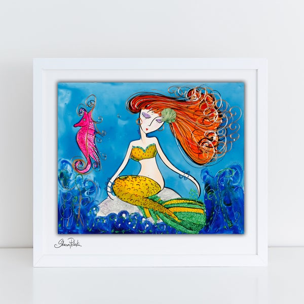 Image of Mermaid Dreaming PRINT