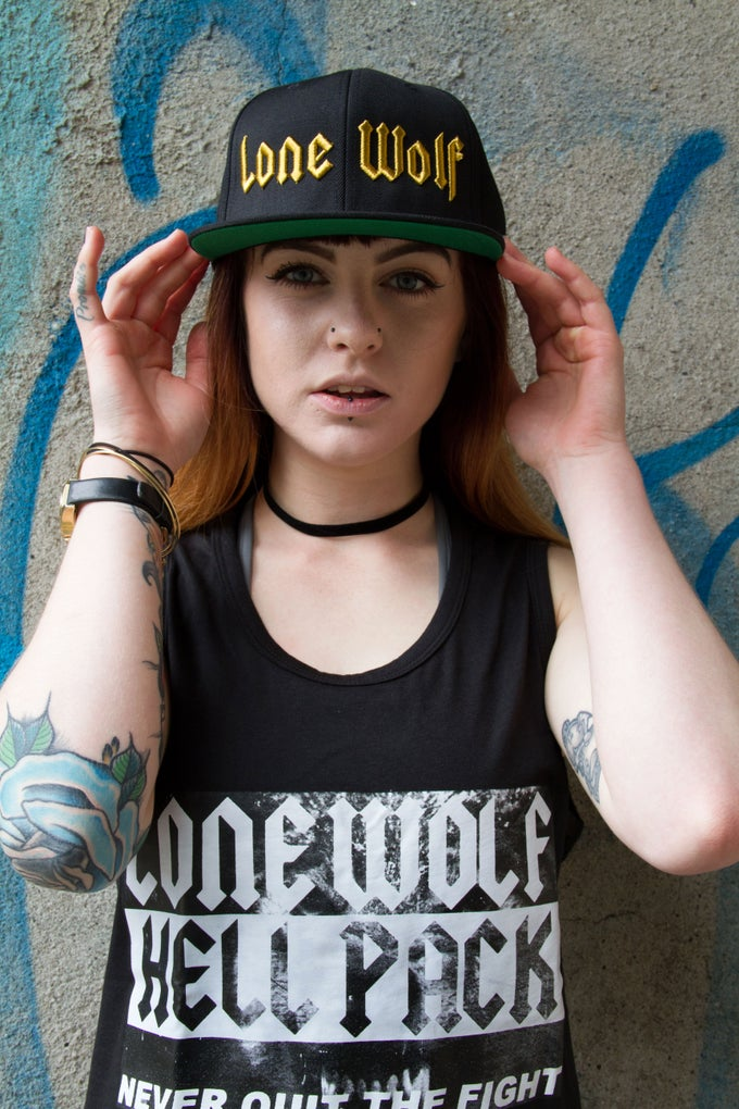 Image of Lone Wolf Snapback