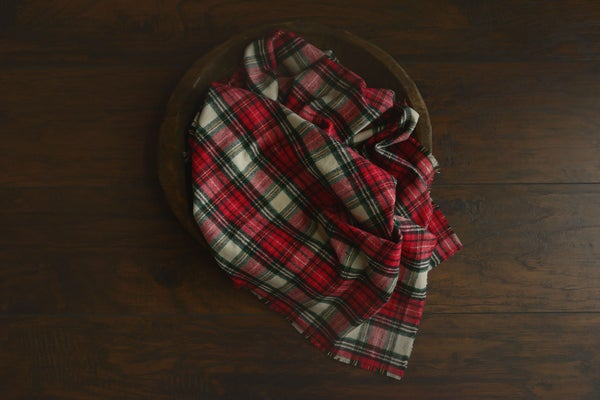 Image of Large Plaid Layer