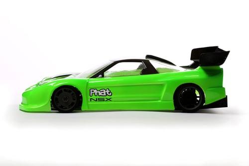Image of Phat Bodies - NSX GT12 Bodyshell for Zen RXGT12 and Schumacher Atom 2