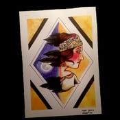 Image of Gypsy Lady A4 Print