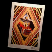 """Image of """"Don't Want To Believe"""" A4 Print"""
