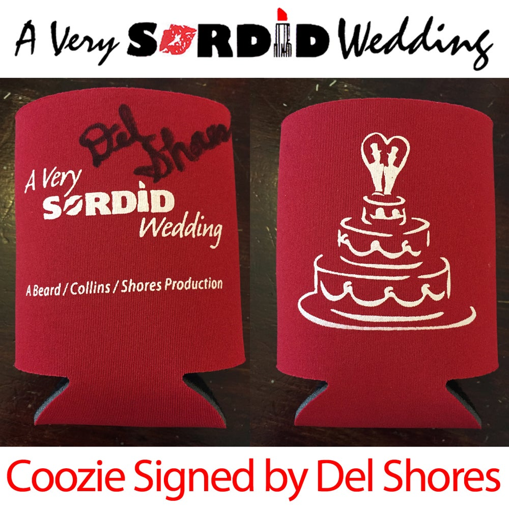 Image of A Very Sordid Wedding Coozie
