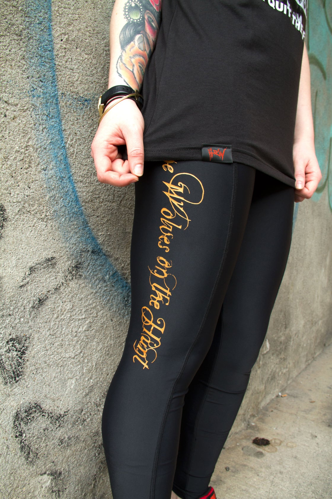 Image of Hell or Win Ladies Leggings