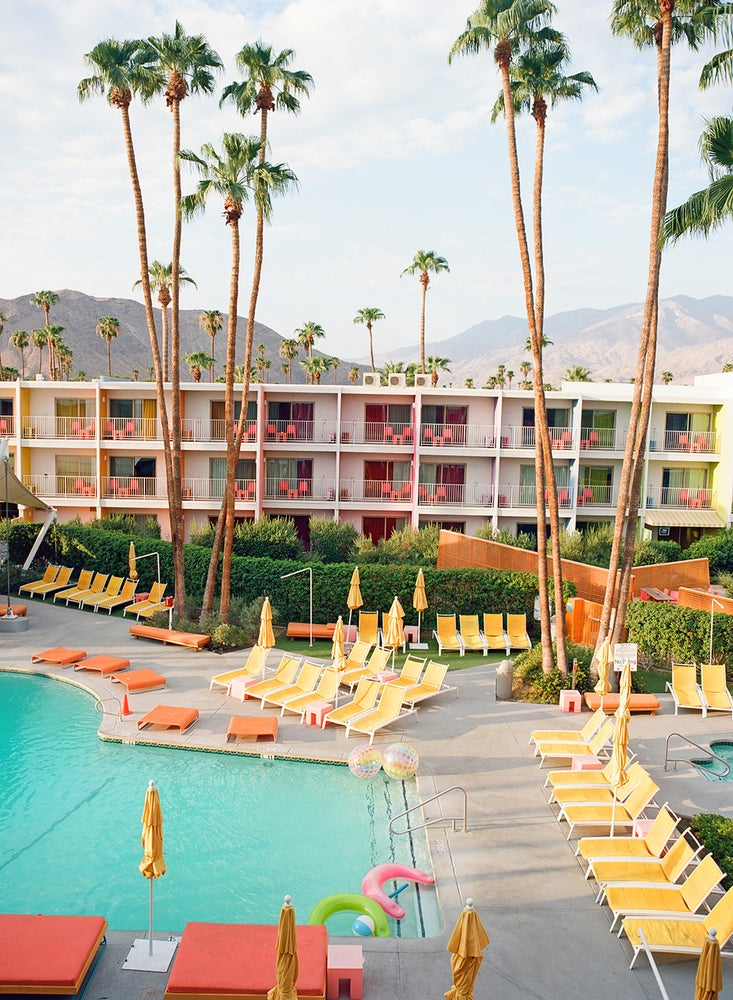Image of palm springs pool