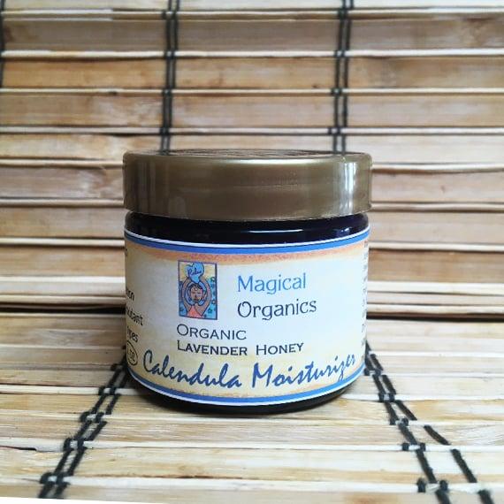 Image of Organic Lavender Honey Calendula Moisturizer