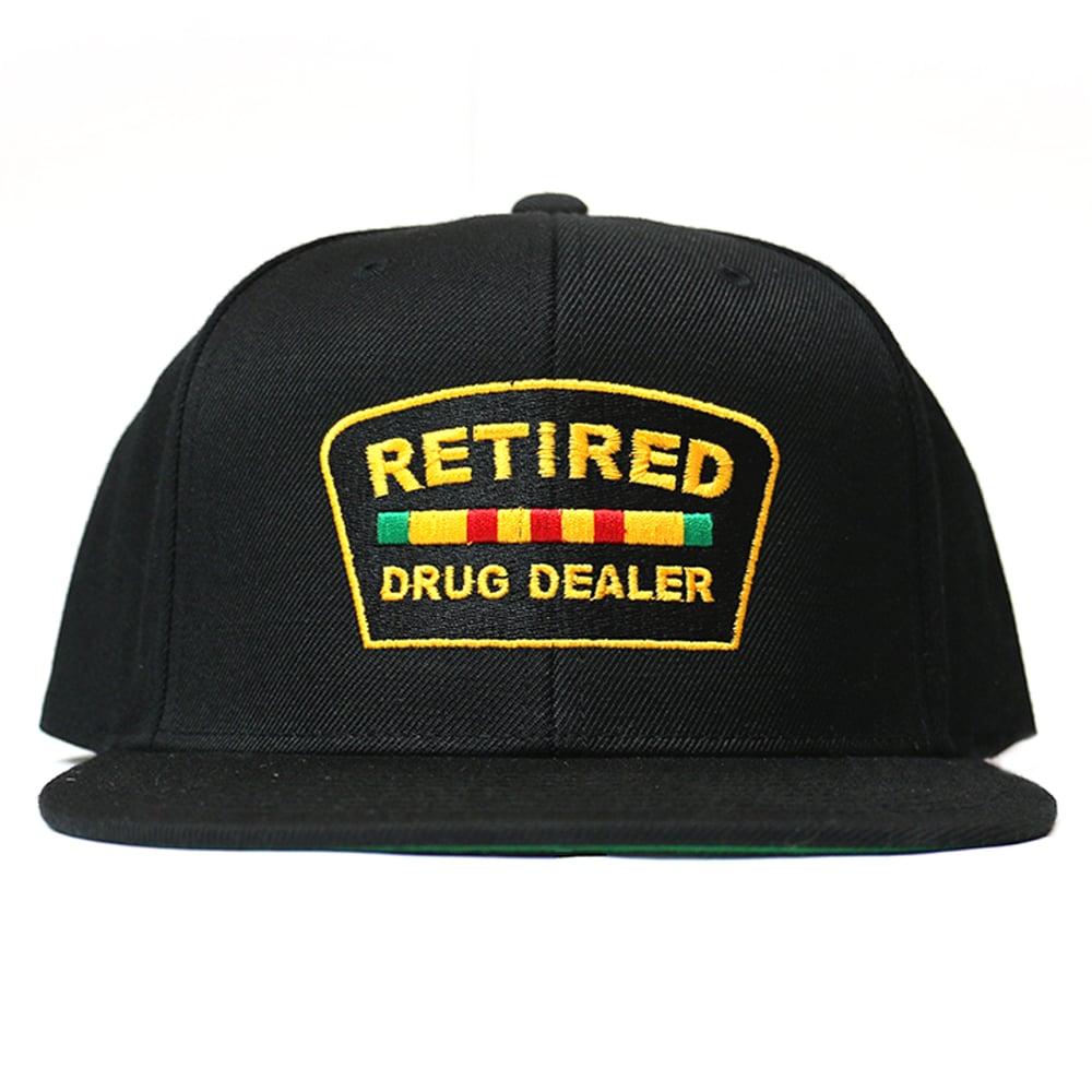"""Image of """"Retired Drug Dealer"""" Snapback"""