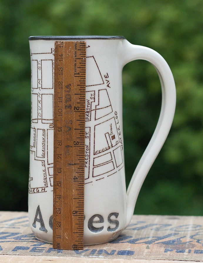 Image of Guelph Inspired 'Sunny Acres' Mug by Bunny Safari
